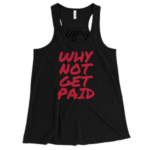 Tank Tops Women Why Not Get Paid Retro Dot RetroDot WhyNotGetPAidFashion Black XS