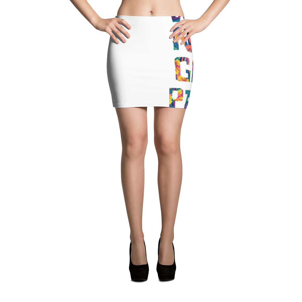 Why Not Get Paid ColorTrap Mini Skirt Colortrap WhyNotGetPAidFashion XS