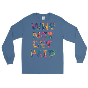 Why Not Get Paid Long Sleeve T-Shirt ColorTrap Collection Colortrap WhyNotGetPAidFashion Indigo Blue S