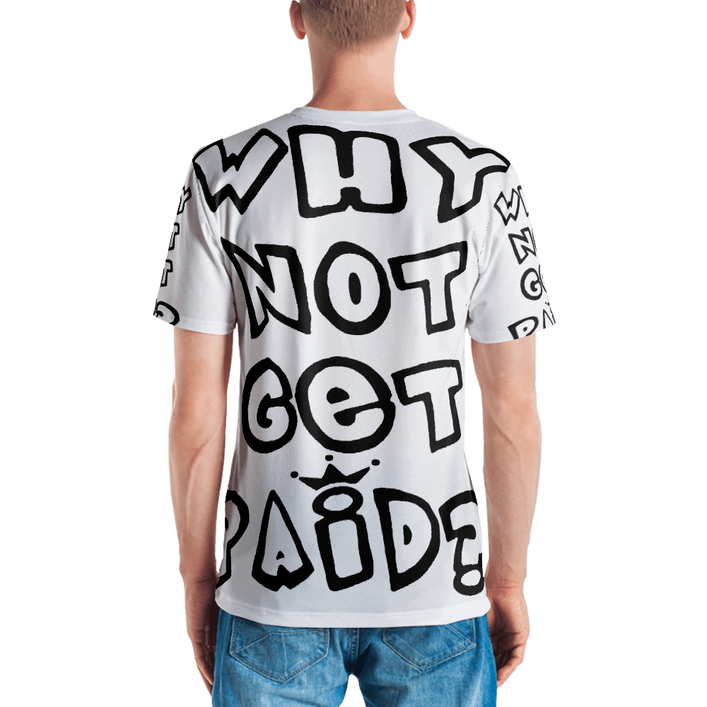 Urban Why Not Get Paid 1.0 Air Head Men's T shirts AirHead1.0 WhyNotGetPAidFashion