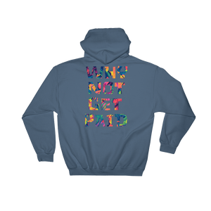 Why Not Get Paid Color Trap Hooded Sweatshirt Colortrap WhyNotGetPAidFashion