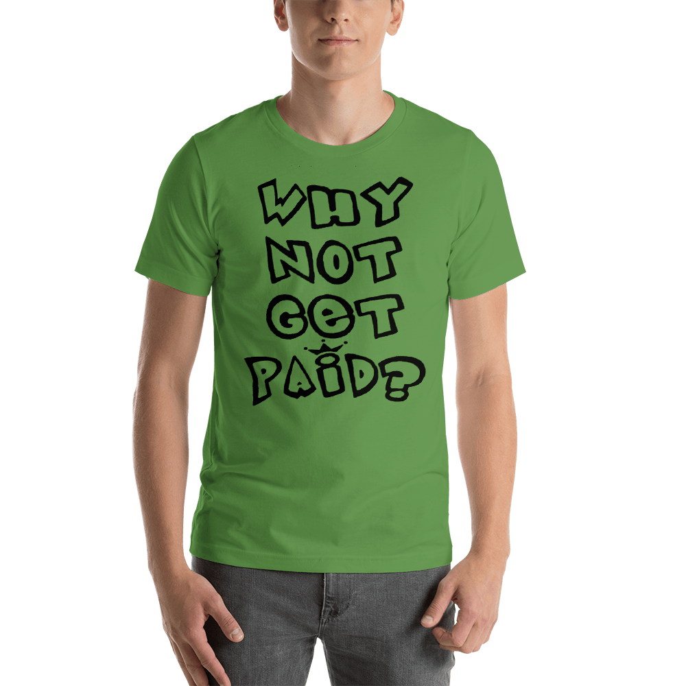 Why Not Get Paid 1.0 Air Head T-Shirt AirHead1.0 WhyNotGetPAidFashion Leaf S