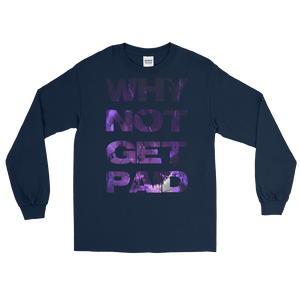 Why Not Get Paid Litt Moment Collection T-Shirt LittMoment WhyNotGetPAidFashion Navy S