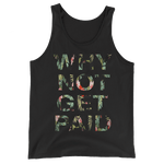 Why Not Get Paid Jungle Tec Collection Tank Top JungleTec WhyNotGetPAidFashion Black XS