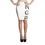 Why Not Get Paid Jungle Tec Pencil Skirt Collection JungleTec WhyNotGetPAidFashion XS
