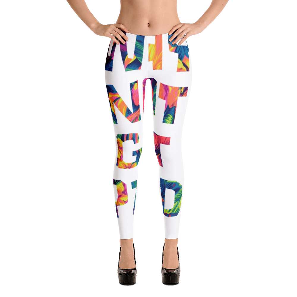 Why Not Get Paid Color Trap women Leggings Colortrap WhyNotGetPAidFashion XS