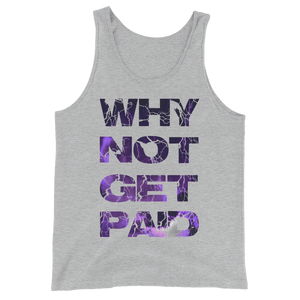 Why Not Get Paid Litt Moment Tank Top Collection LittMoment WhyNotGetPAidFashion Athletic Heather XS