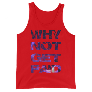 Why Not Get Paid Litt Moment Tank Top Collection LittMoment WhyNotGetPAidFashion Red XS