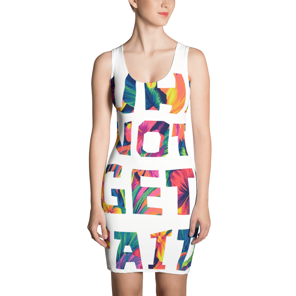 Why Not Get Paid Color Trap Sublimation Cut & Sew Dress Colortrap WhyNotGetPAidFashion XS