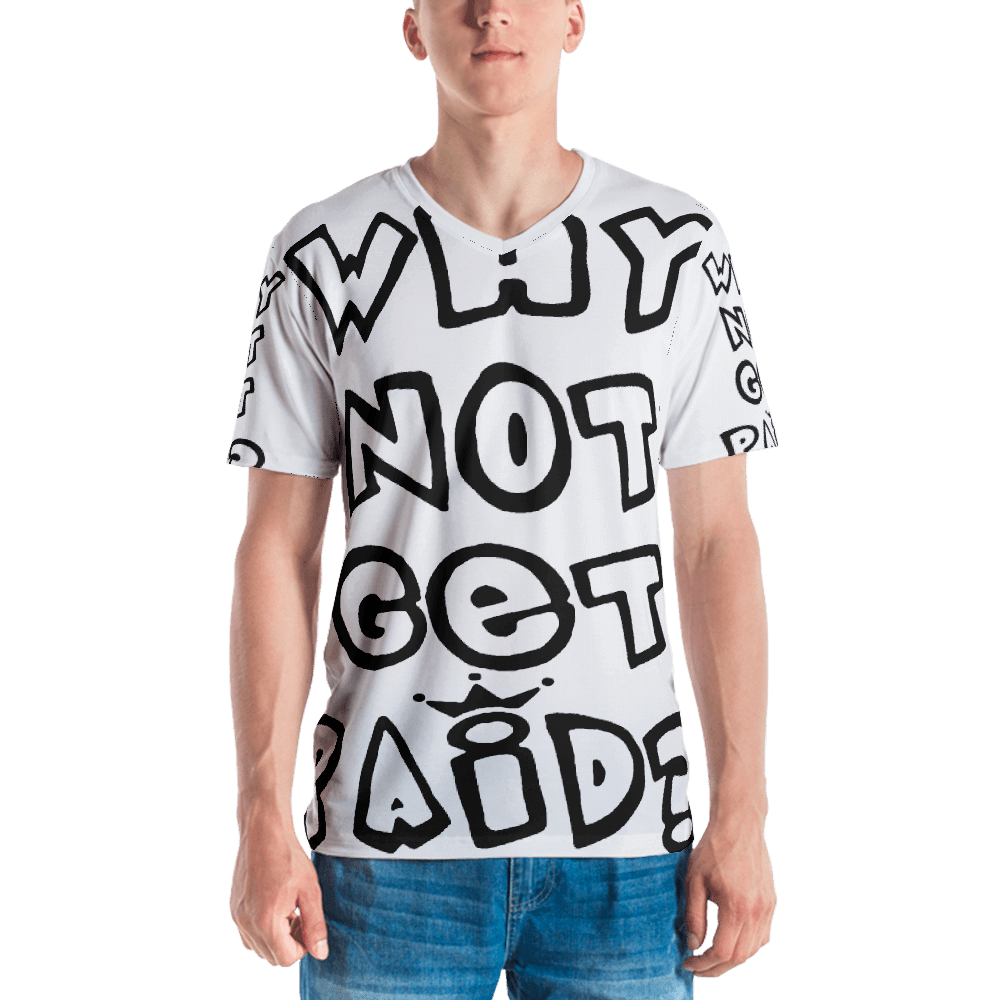 Urban Why Not Get Paid 1.0 Air Head Men's T shirts AirHead1.0 WhyNotGetPAidFashion XS