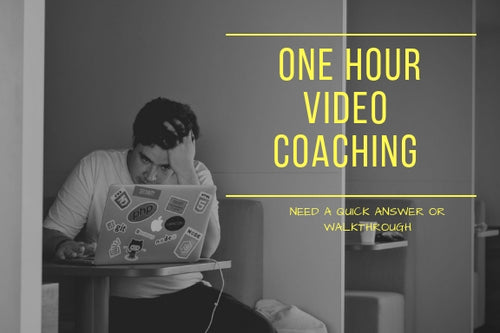 ONE HOUR VIDEO COACHING W/ VERTICAL JONES