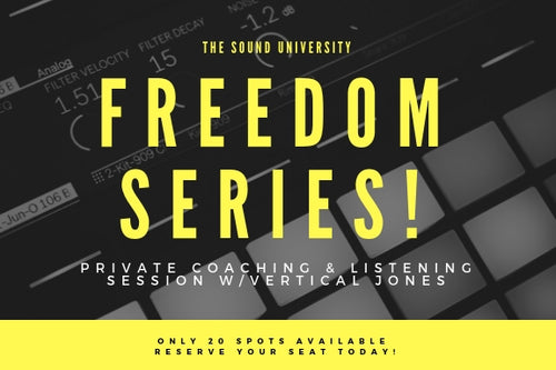 Freedom Series: 5 Keys to Creative Freedom