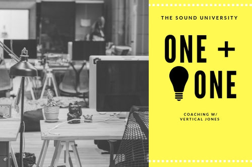 ONE + ONE CREATIVE COACHING W/ VERTICAL JONES