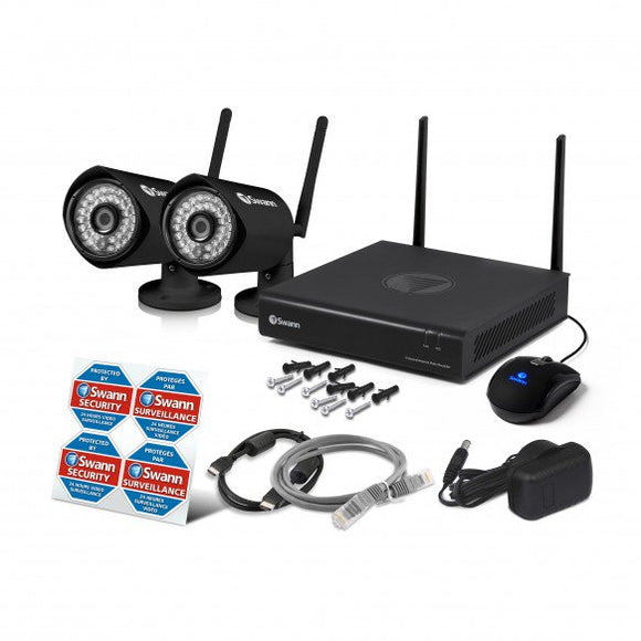 Swann GuardianEye WiFi Full HD 1080p Wireless System with 2 cameras