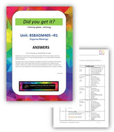 BSBADM405 Organise meetings - Answers