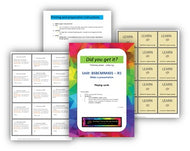 BSBCMM401 Make a presentation - Question cards