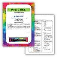 BSBITU302 Create electronic presentation - ANSWERS