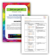 BSBWHS401 Implement and monitor WHS policies... - Answers