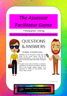 TAEASS502 Design and develop assessment tools - Assessor Facilitator supplementary questions game
