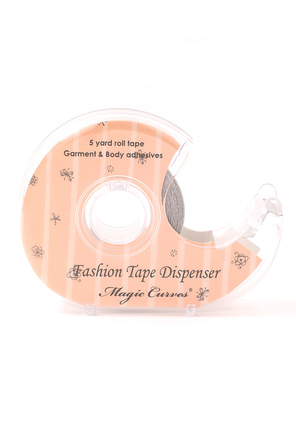 108D MAGIC CURVES 5 YARD ROLL FASHION LINGERIE DOUBLE-SIDED TAPE (1 Dozen Wholesale Price)