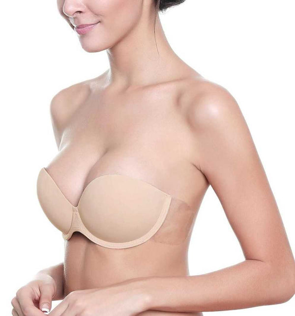 Magic Curves Backless Strapless Push Up Bra, Push Up Bra, Sticky Silicone Bra, Backless Bra, Angel Wing Bra, Reusable Bra