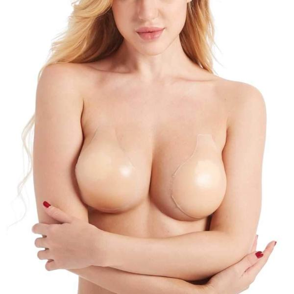 306N MAGIC CURVES SILICONE BRA CUPS (1 Dozen Wholesale Price)