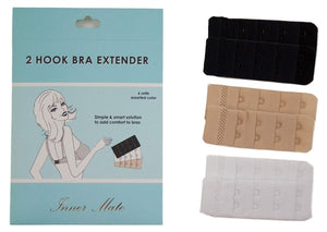 MAGIC CURVES 6 PACK BRA EXTENDER - 2 HOOK