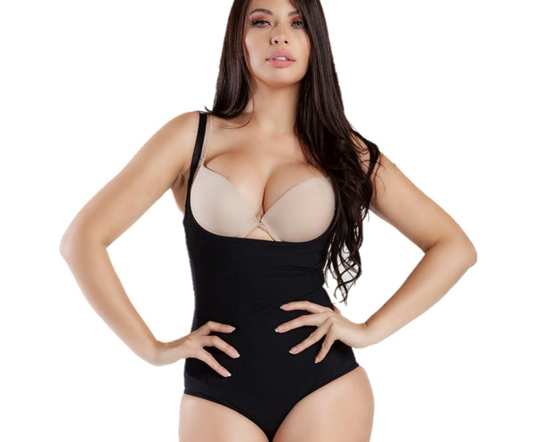 6785 MAGIC CURVES SEAMLESS OPEN BUST FIRM CONTROL SHAPER (6pcs Wholesale Price)