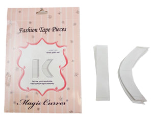 109C MAGIC CURVES FASHION TAPE PIECES (1 Dozen Wholesale Price)