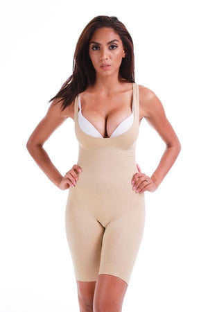 6732 MAGIC CURVES SEAMLESS FULL BODY LONG LEG (6pcs Wholesale Price)