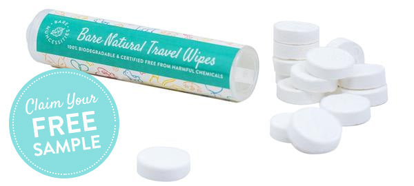 Free Travel Wipes Sample