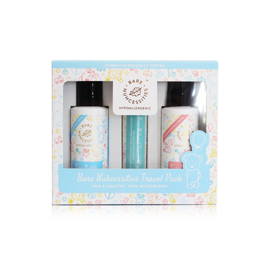 Bare Nuhcessities Travel Essential Set - Bare Nuhcessities Baby