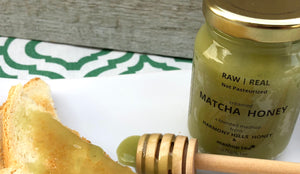 Introducing Mashup Tea's NEW Matcha Honey!
