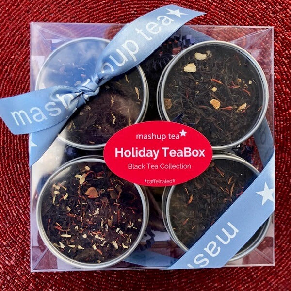 Holiday Teabox ~ Black Tea Collection