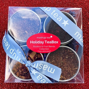 Holiday Teabox ~ Rooibos & Fruit Blends Collection