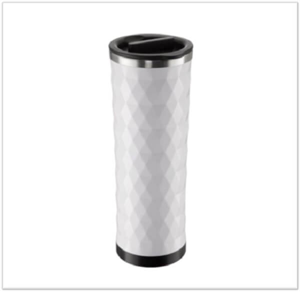 Takeya Double Wall Stainless Steel Diamond Tumbler with Tea Infuser Travel Mug