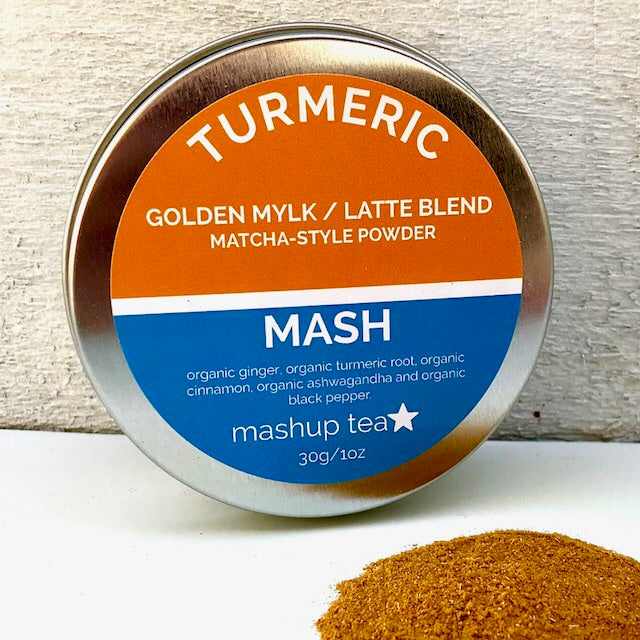 MATCHA | Organic Powdered Turmeric Blend (matcha-style)