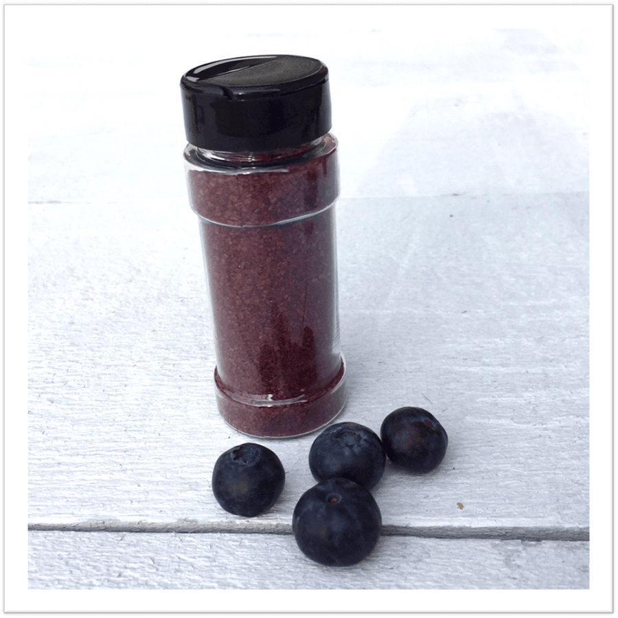 Wild Blueberry Cane Sugar