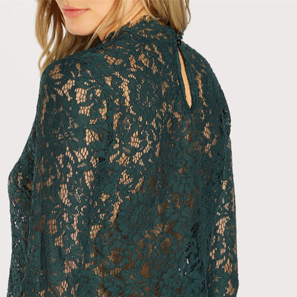 Victorian Lace Bell Blouse