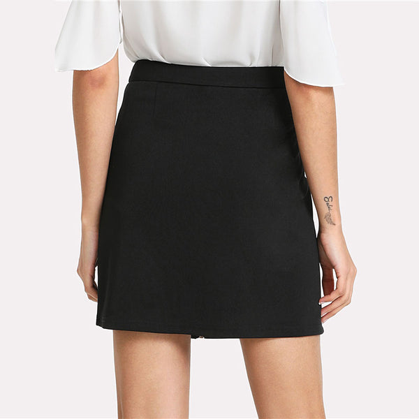 Hacienda Embroidered Mini Skirt