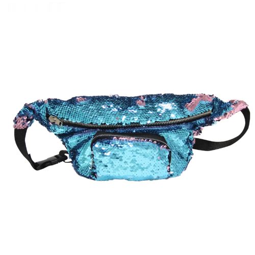Reversible Mermaid Fanny Pack