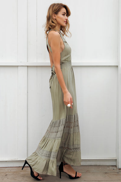 Barcelona Halter Maxi Dress