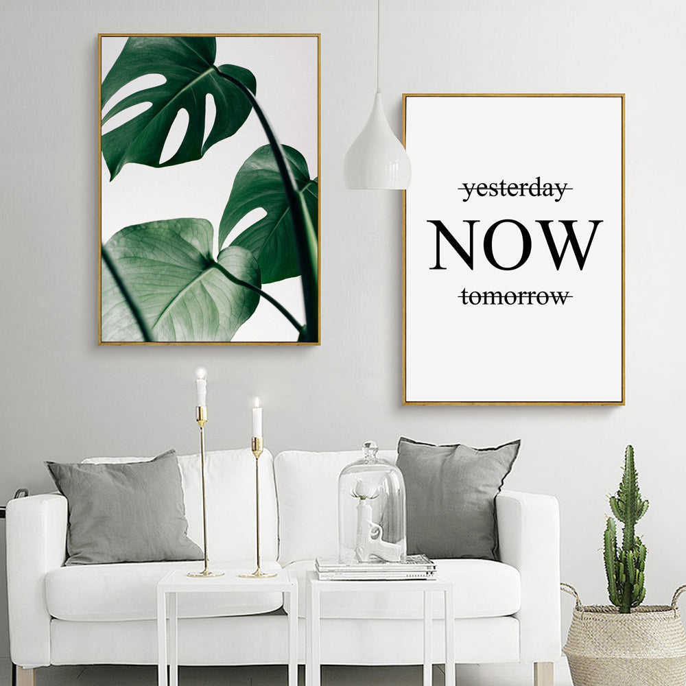Greenery Now Wall Art