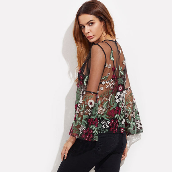 Angelica Embroidered Blouse