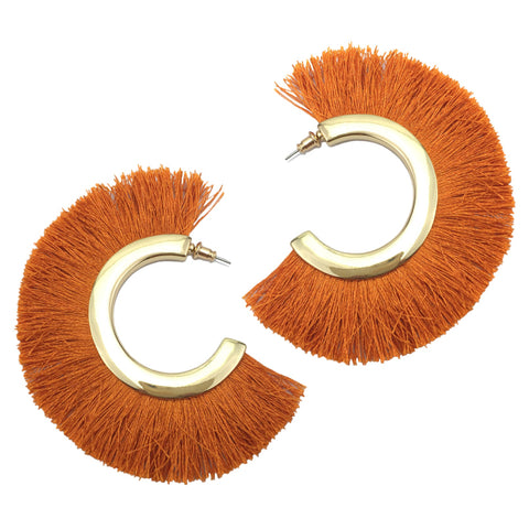 Safari Tassel Earrings