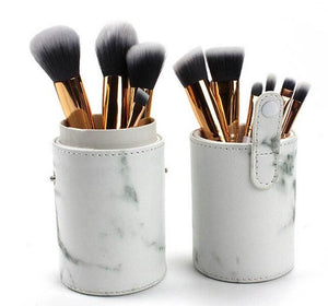 Marble Makeup Brush Set