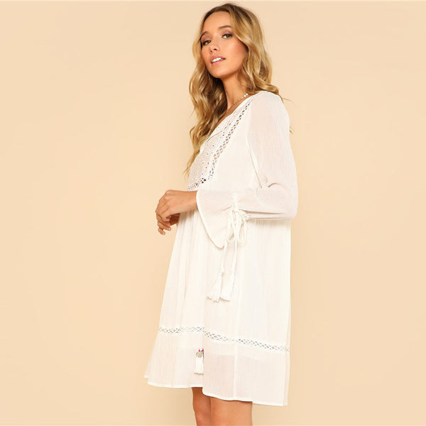 Laguna Tassel Dress