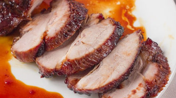 GRILLED MISO-HONEY GLAZED PORK TENDERLOIN