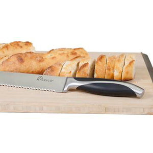 MAIRICO Ultra Sharp Premium 10-inch Stainless Steel Serrated Bread Knife