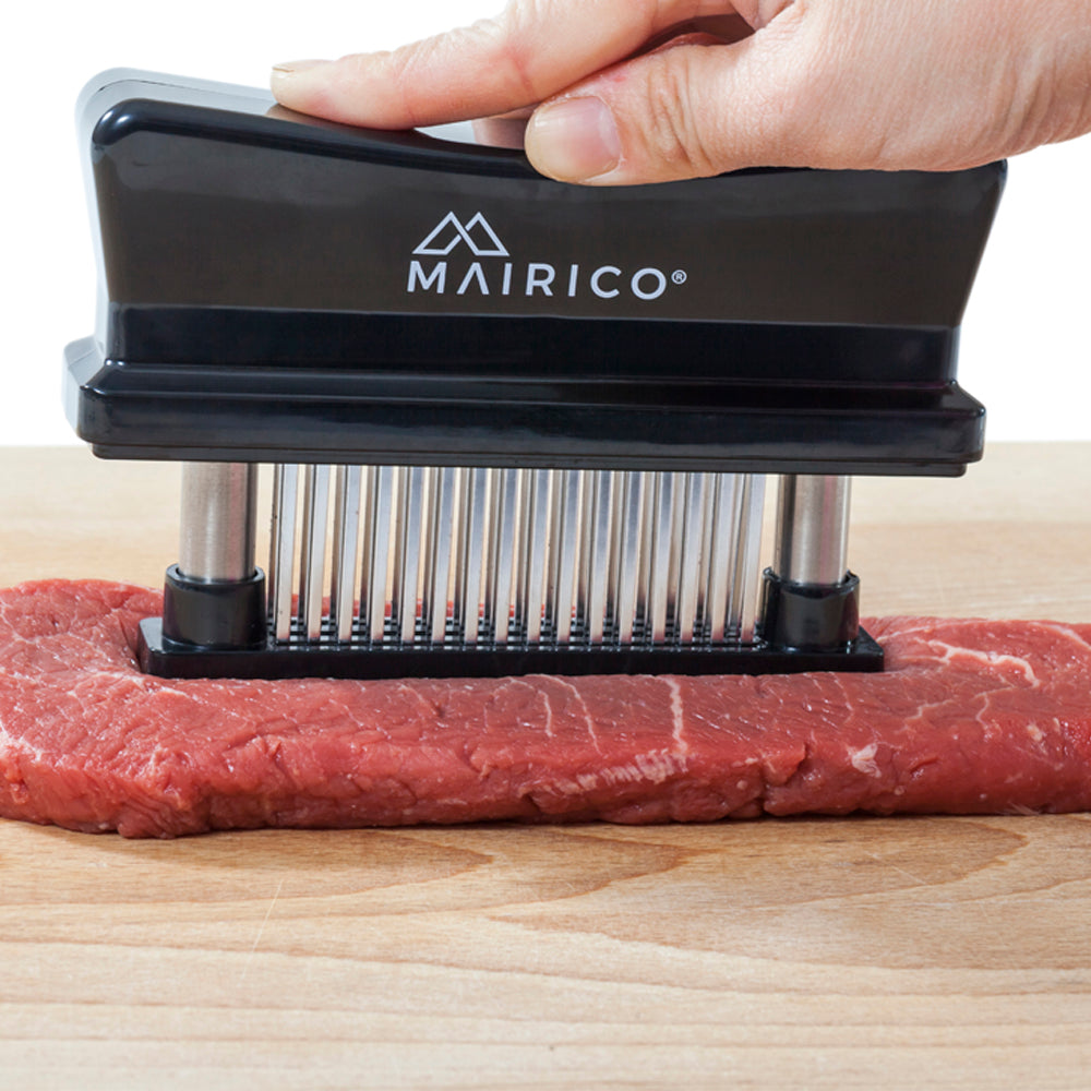 Ultimate Kitchen Trio: Meat Tenderizer, Chef Knife, and Take-Apart Shears